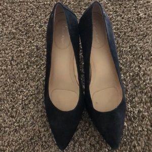 Black Pointes Toe Heels
